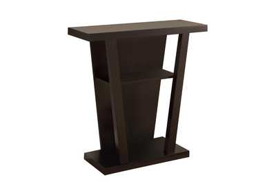 Image for Cappuccino Cappuccino Accent Console Table