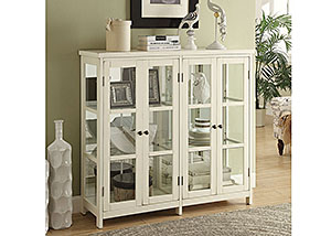 Grey Accent Cabinet