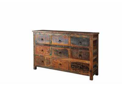 Image for Treehouse Industrial Reclaimed Wood Accent Cabinet