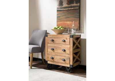 Natural Accent Cabinet