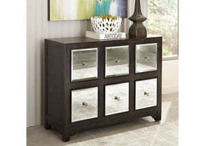 Brown Accent Cabinet