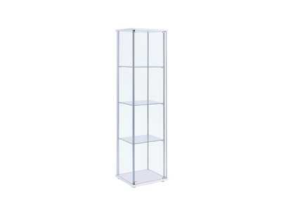 Image for White Curio Cabinet