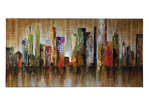 Image for Irish Coffee Contemporary Cityscape Wall Art