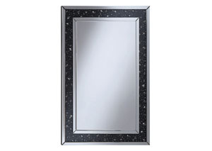 Black Wall Mirror