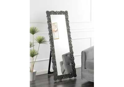 Smoke Grey Cheval Mirror