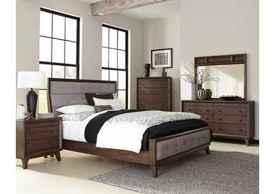 Bingham Retro-Brown Dresser