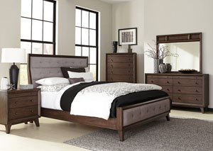 Bingham Dark Brown Dresser