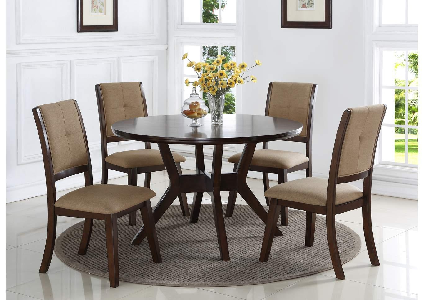 upholstered dining room set value city furniture barney upholstered dining chair set of 2crown mark the furniture shop duncanville tx