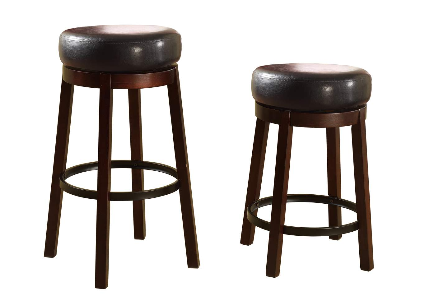 Wendy Espresso Swivelb Stools [2/ctn],Crown Mark