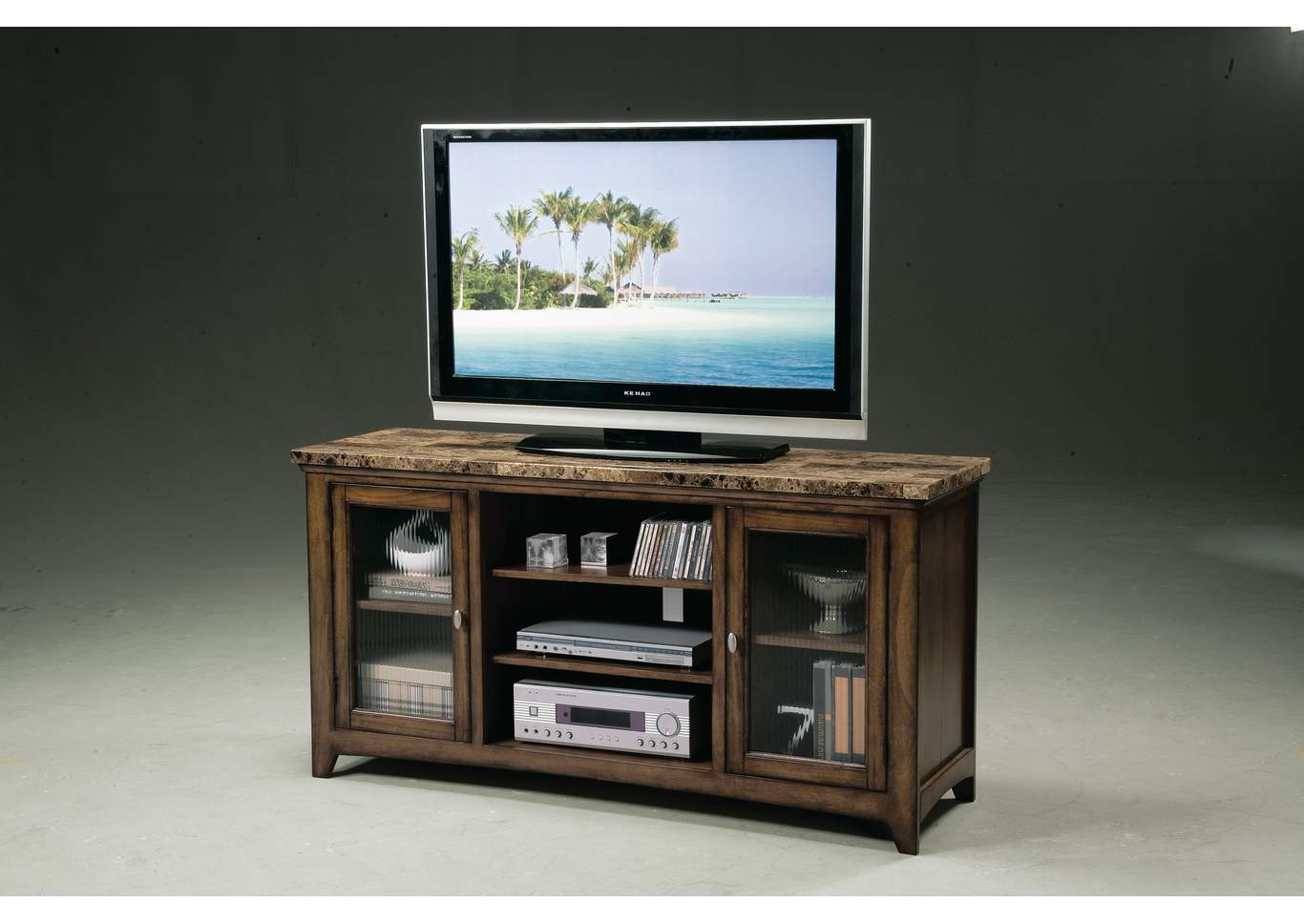 Thurner Entertainment Console w/Storage,Crown Mark