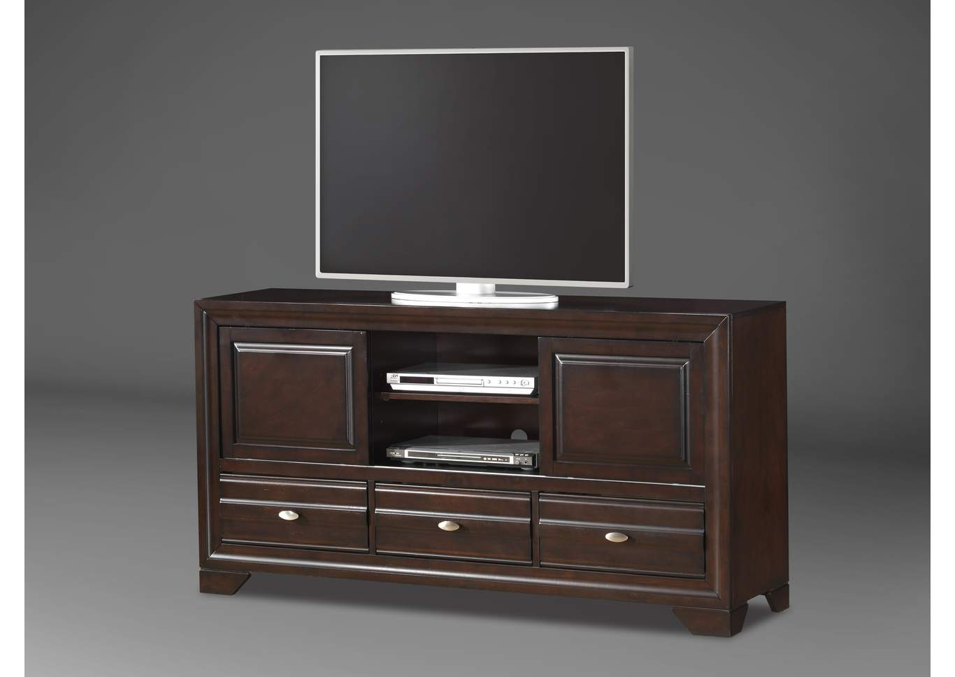 Brown TV Stand,Crown Mark