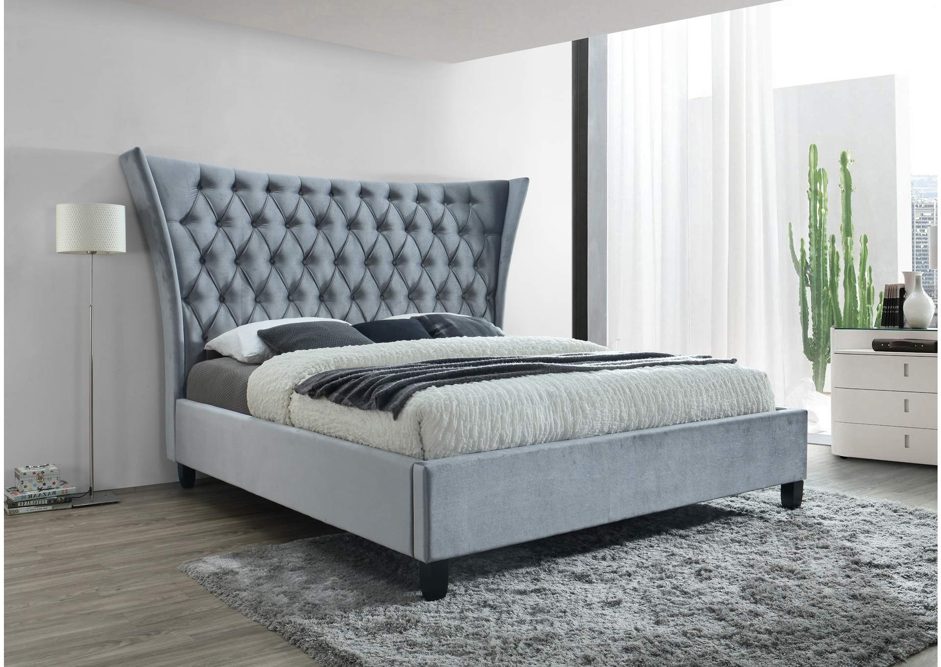 Gabriella King Bed,Crown Mark