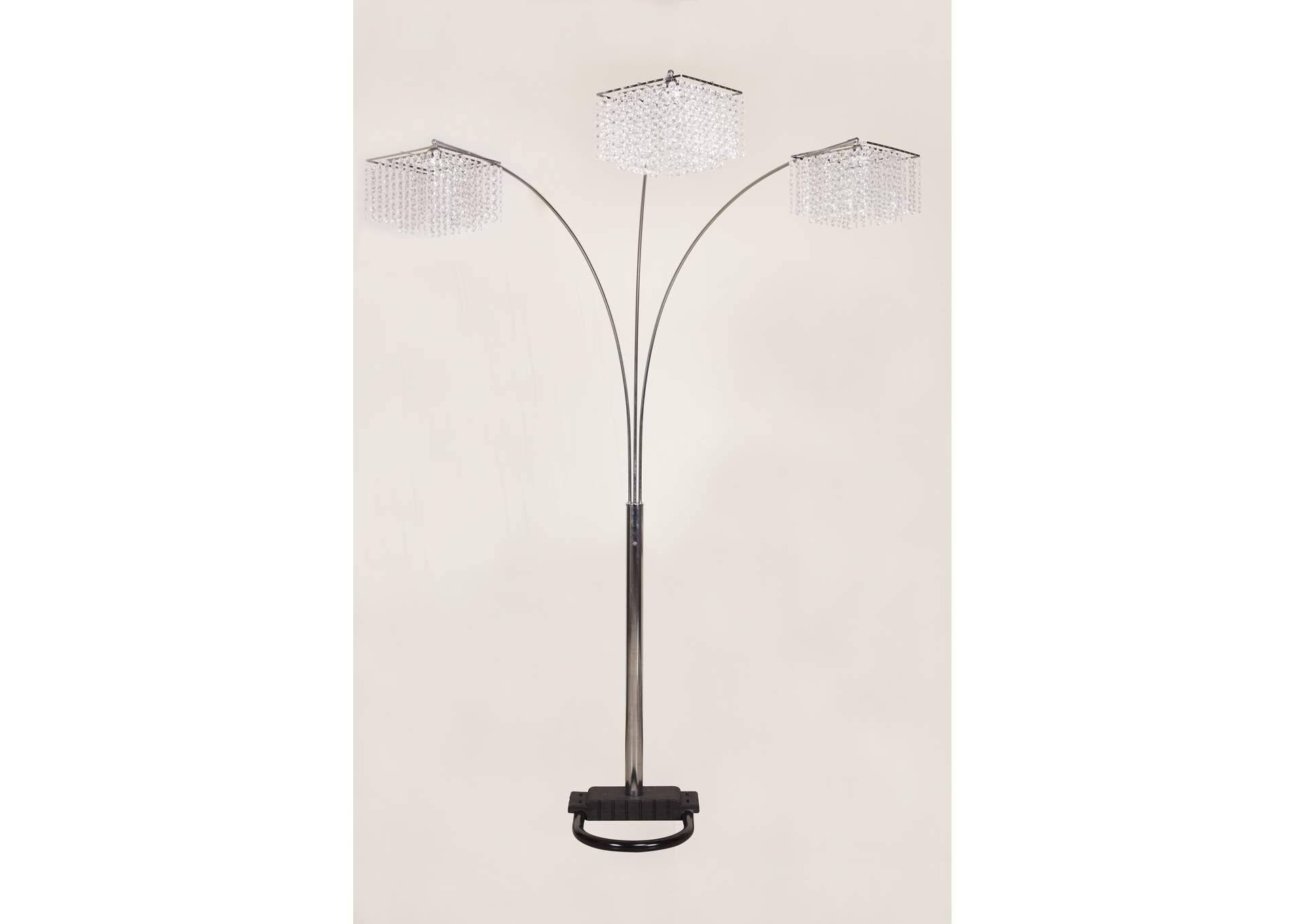 Silver Floor Lamp,Crown Mark