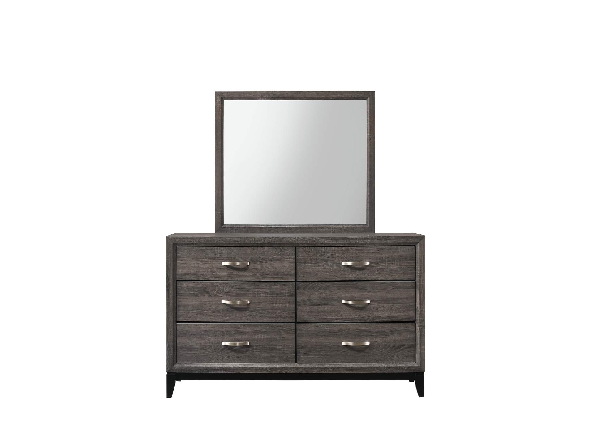 Akerson Grey Dresser,Crown Mark