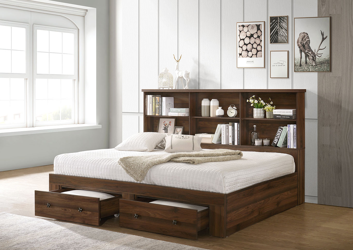 Mattress Furniture For Less Millie Brown Full Twin Daybed