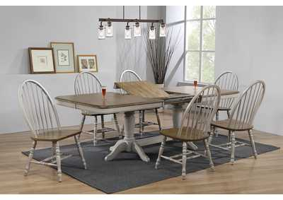 Jack Brown Rectangular Dining Table