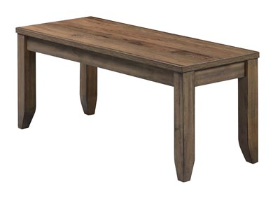 Image for Sean Brown Wooden Dining Bench