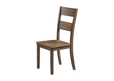 Image for Sean Brown Wooden Dining Chair [2/ctn]