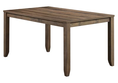 Sean Brown Rectangular Wooden Dining Table