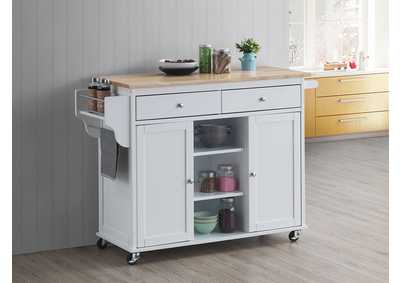 Grady White Kitchen Cart