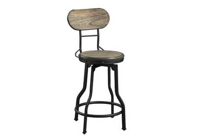 Kenneth Brown Assembled Swivel Counter Stools [2/ctn]