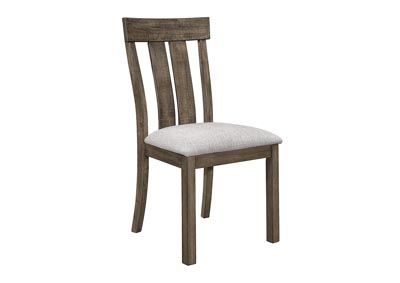Image for Quincy White Assembled Dining Side Chair [2/ctn]