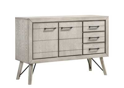 Image for White Sand White Sideboard