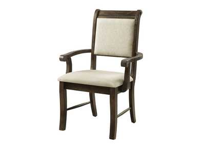 Merlot Grey Arm Chair