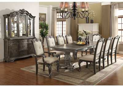 Image for Kiera Grey Formal Dining Room Set W/ 8 Chairs & China Cabinet