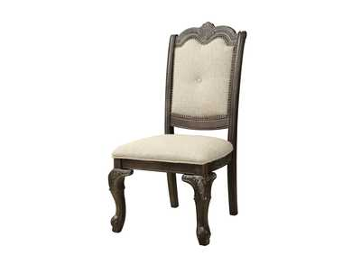 Image for Kiera Grey Assembled Dining Side Chair [2/ctn]