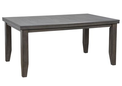 Image for Bardstown Grey Rectangular Wooden Dining Table