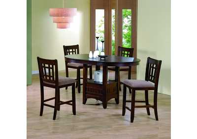 Empire Counter Height Dining Table w/ 4 Side Chairs