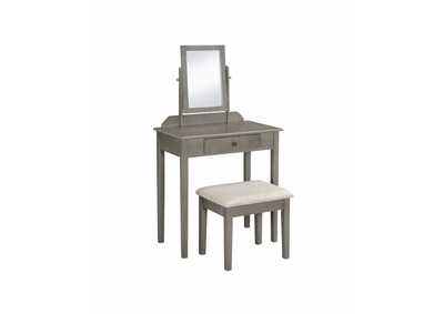 Image for Iris Grey Vanity Set