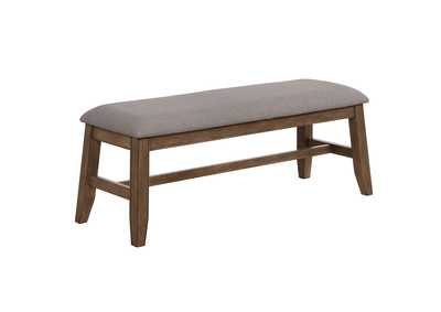 Image for Manning  Grey Dining Bench