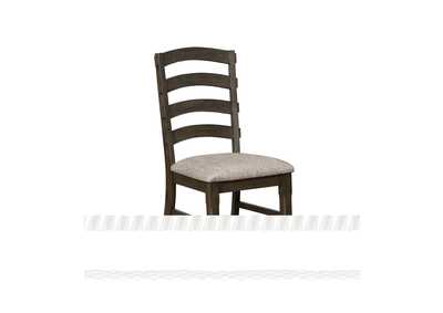 Image for Armina Grey Assembled Dining Side Chair [2/ctn]