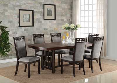 Pryce Rectangular Extension Dining Table w/4 Side Chairs