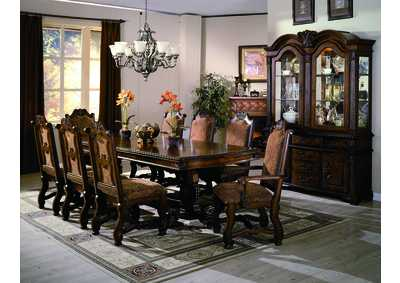 Neo Renaissance Dining Table w/4 Side Chairs and 2 Arm Chairs