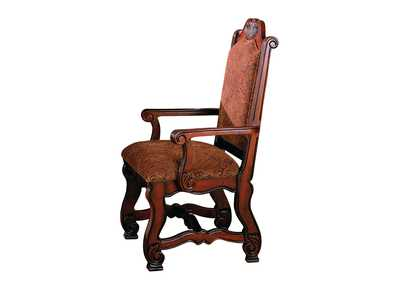 Neo Renaissance Brown Arm Chair
