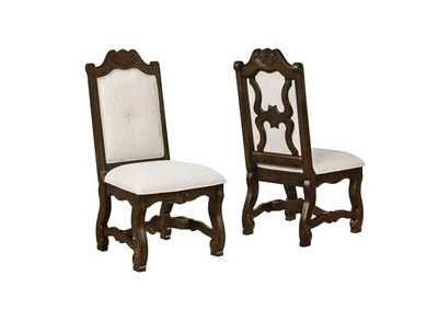 Pierre White Assembled Dining Side Chair [2/ctn]