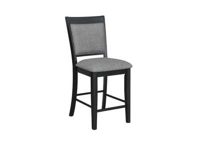 Fulton Black Assembled Counter Height Side Chair [2/ctn]