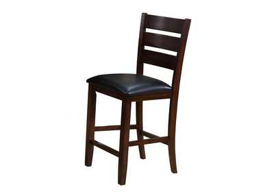 Image for Bardstown Brown Assembled Counter Height Side Chair [2/ctn]