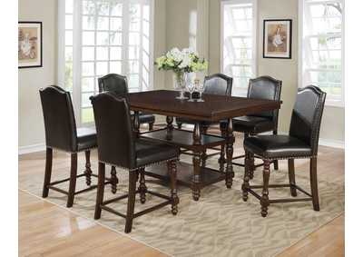 Image for Langley Brown Counter Height Table