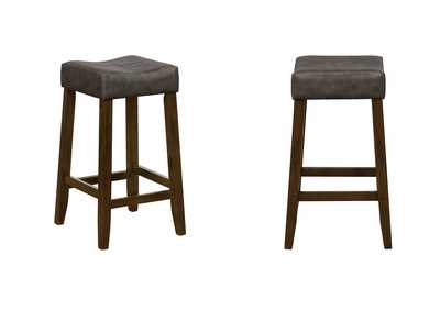Seda Dark Grey Counter Height Stools [2/ctn]