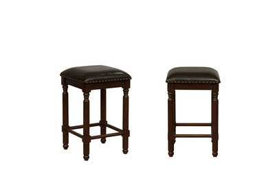 Chadwick Espresso Counter Height Stools [2/ctn]