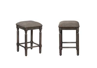 Chadwick Grey Counter Height Stools [2/ctn]