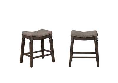 Farlin Grey Counter Height Stools [2/ctn]