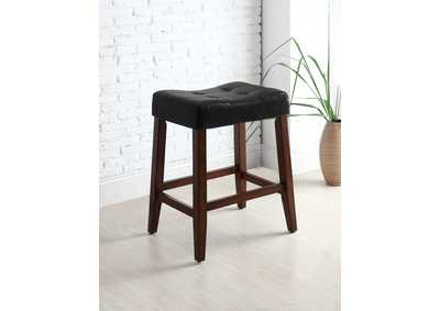 Image for Kent Black Saddle Stools [2/ctn]