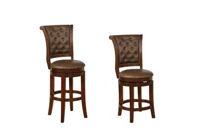 Image for Granville Espresso Swivel Counter Stools [2/ctn]