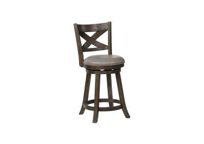 Image for Kipper Grey Swivelb Stools [2/ctn]