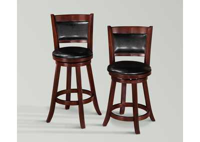 Cecil Swivel Pub Stool (Set of 2)